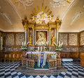 Our Lady of the Gate of Dawn Interior During Service, Vilnius, Lithuania - Diliff.jpg